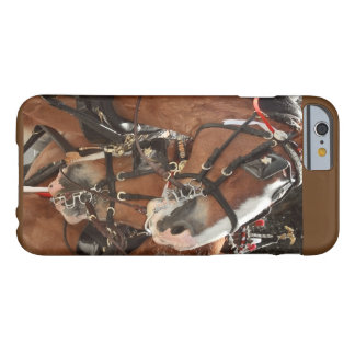 Hästen kopplar ihop fotograferar barely there iPhone 6 fodral