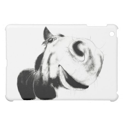Hästen skissar iPad mini mobil skydd