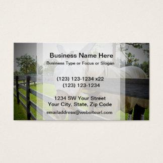 hästflugan maskerar över staket betar avbildar visitkort