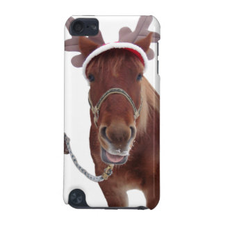 Hästhjort - julhäst - rolig häst iPod touch 5G fodral