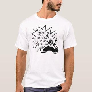 Hastigt grepp dina bollar & låter för att gå att t-shirt