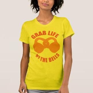 Hastigt greppliv vid Klockor - Kettlebellen T-shirts