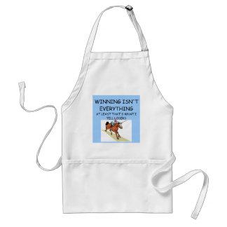 Hästkapplöpningvinnare Förkläde
