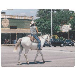 Hästridning på den södra kongressen Ave iPad Skydd