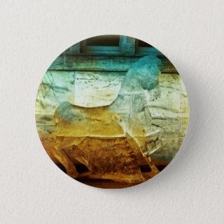 Hästrundan för bärnsten 2008/för turkos 3 knäppas standard knapp rund 5.7 cm