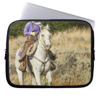 Hästryggryttare 20 laptop sleeve