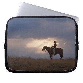 Hästryggryttare 22 laptop fodral