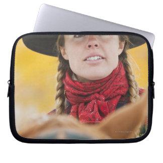 Hästryggryttare 5 laptop sleeve