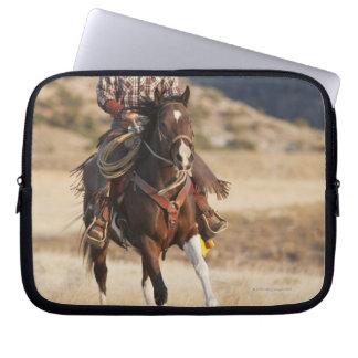 Hästryggryttare 7 laptop sleeve