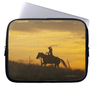 Hästryggryttare 9 laptop fodral