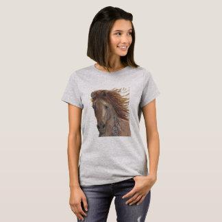 Hästskjorta, hästskjorta, hästintresserad Shirt. Tee Shirt