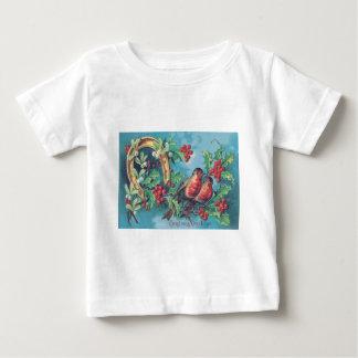 Hästsko för Mistletoe för järnek för T Shirt