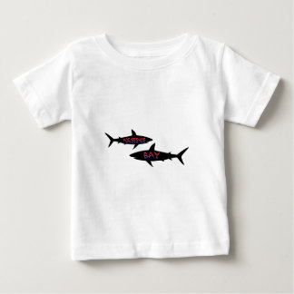 hästskofjärdBermuda hajar Tee Shirt