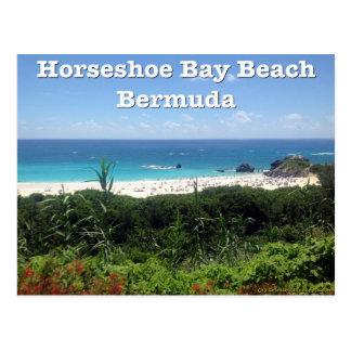 Hästskofjärdstrand, Bermuda Vykort