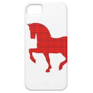 HästTartanmönster iPhone 5 Skydd