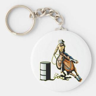 Hästtrummatävla Rund Nyckelring