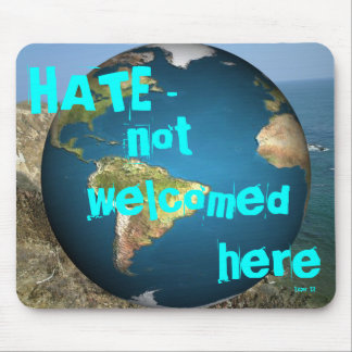 HAT - inte välkomnad here2 Musmatta
