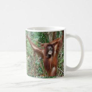 Hata inte mig för att vara härliga roliga apor kaffemugg