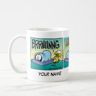"""""""Hatar jag morgon"""" Garfield den komiska remsan Kaffemugg"""