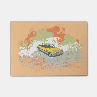 Hatchbacken Postar-it® noterar Post-it Block