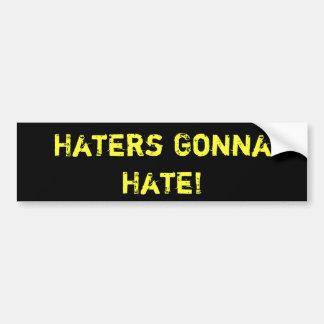 Haters som går att hata!  BILDEKAL