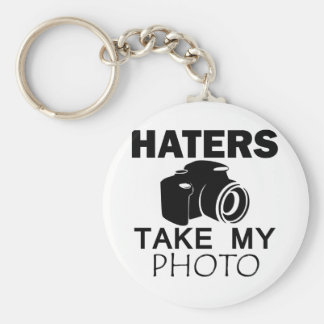 hatersdesign rund nyckelring