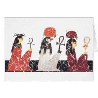 Hathor Ra och Selkis Hälsningskort