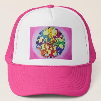Hatt-Cirkla av ödlor Keps