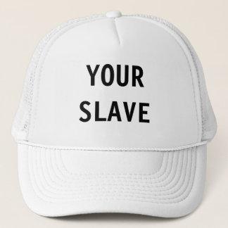 Hatt ditt slav- truckerkeps