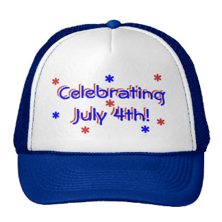 Hatt - fira Juli 4th Keps
