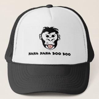 """Hatt för apa för BargasArtworks """"Nana Nana bubu"""" Truckerkeps"""
