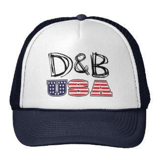 Hatt för D&B USA Keps