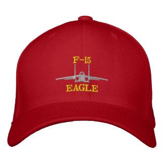 Hatt för Golf F-15 med callsignen Broderad Keps