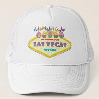 Hatt för grattis på födelsedagenpartyLas Vegas Keps