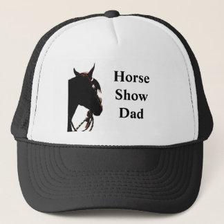 Hatt för hästShowpappa Keps