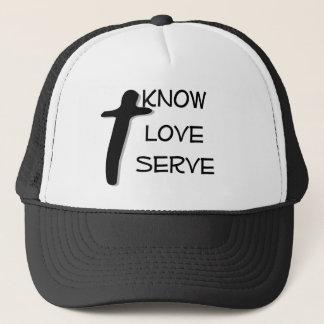 Hatt för KLS-~-anpassade med det kristna Truckerkeps