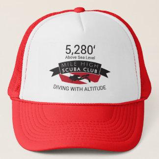 Hatt för klubb för 5280 Mile kickScuba Truckerkeps