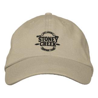 Hatt för lantgård för Stoney bäckarv justerbar Broderad Keps