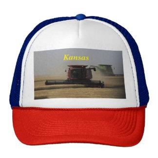 Hatt för lastbilsförare för Kansas veteskörd Keps