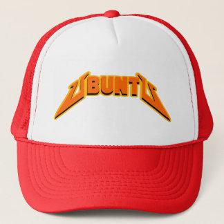 Hatt för logotyp för Ubuntu stenparodi Truckerkeps