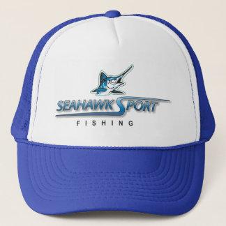 Hatt för Marlin för SeaHawk sportfiske Truckerkeps