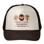 Hatt för medicin för fredkärlek nöd- keps