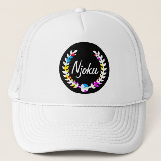"""Hatt för Njoku färgglad stänk""""kran"""" Truckerkeps"""
