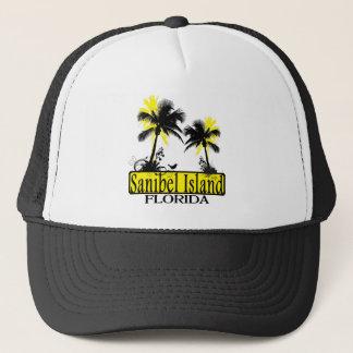 Hatt för Sanibel öFlorida palmträd Keps