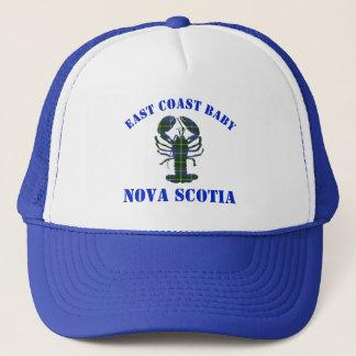 Hatt för tartan för ostkustbabyNova Scotia hummer Truckerkeps