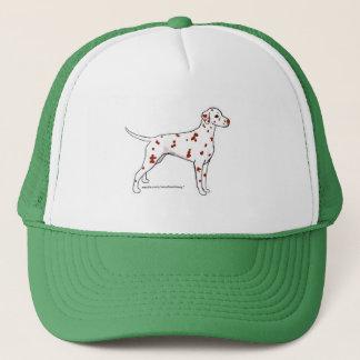 Hatt: Lever-Prickig Dalmatian Keps
