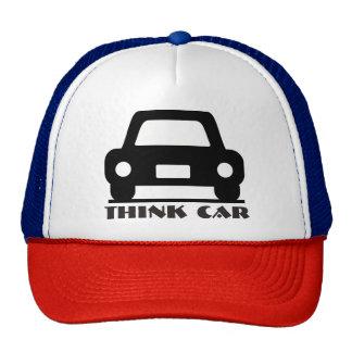 Hatt/lock för tänkabil skraj keps