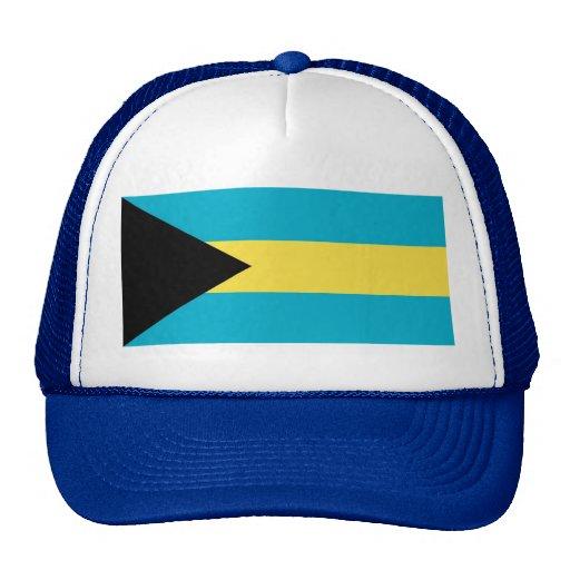 Hatt med flagga av Bahamas Baseball Hat