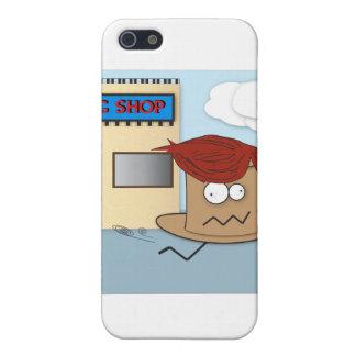Hatt som stjäler en Wigiphone case iPhone 5 Fodral