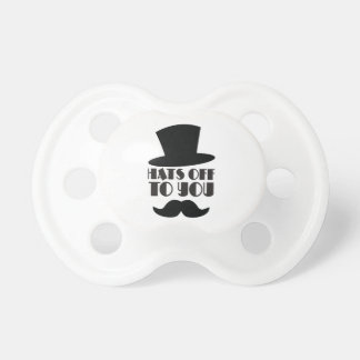 HATTAR av till dig! med top hat och moustachen Napp